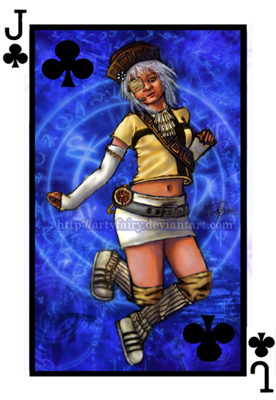 Jack of Clubs by Artyfairy