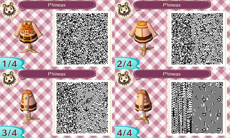 Animal Crossing : Phineas QR by Artyfairy
