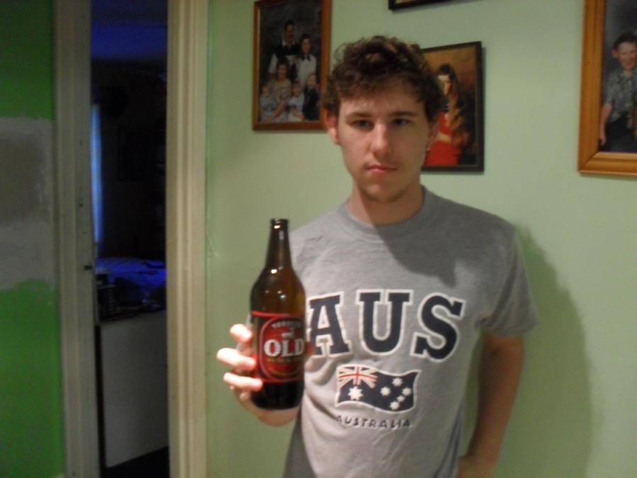 me and my beer by ninetales666