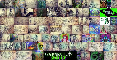 Loneskull 2017 by Tiduk