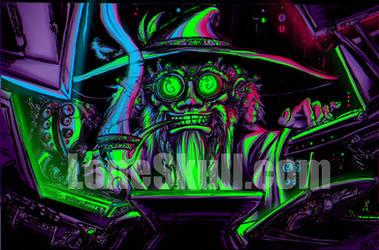 Cyber Wiz by Tiduk
