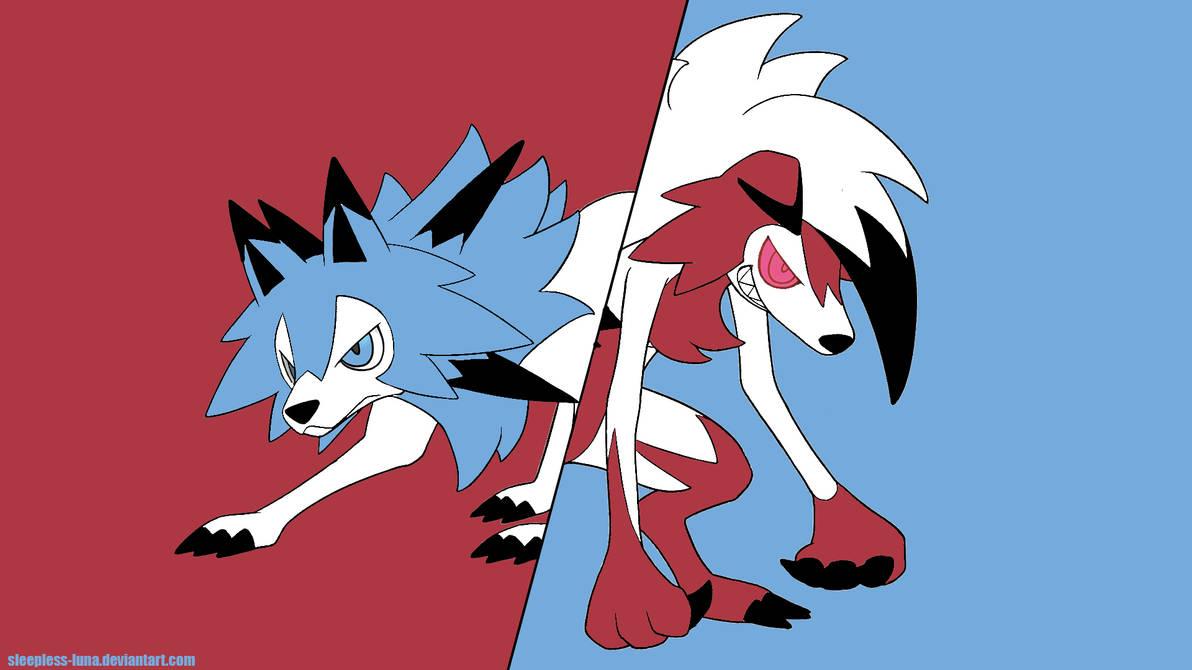 Pokemon Lycanroc Wallpaper Version 1 by Sleepless-Luna