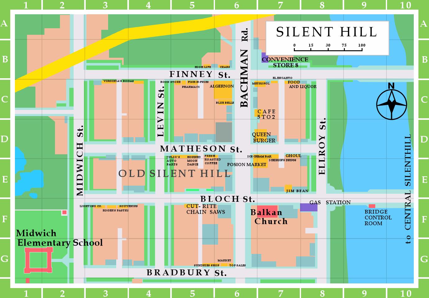 Old Silent Hill Map Remake By Samofsuthsax On Deviantart
