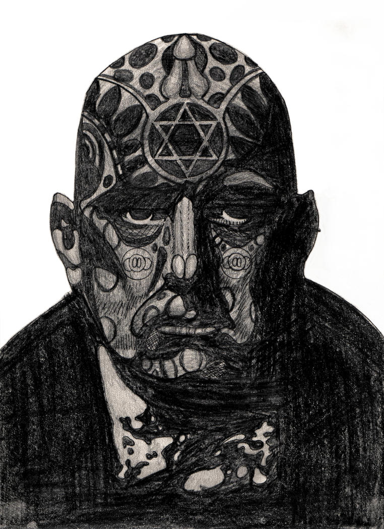 Aleister Crowley by SamOfSuthSaxAleister Crowley Paintings