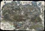 Drath Samid's map of Skyrim.