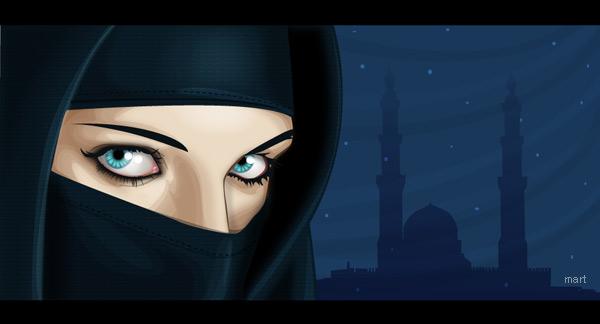 2.vector-art: the arabian nigh by mart-art