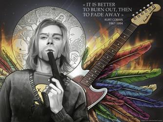 memoria: Kurt Cobain by mart-art