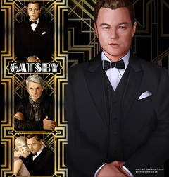 the great gatsby by mart-art
