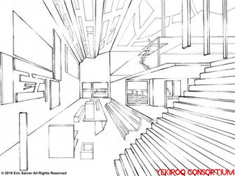 Studio Apartment Weighted Line Art by YekiroqConsortium