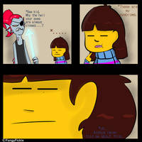 The truth behind Frisk's Asian eyes
