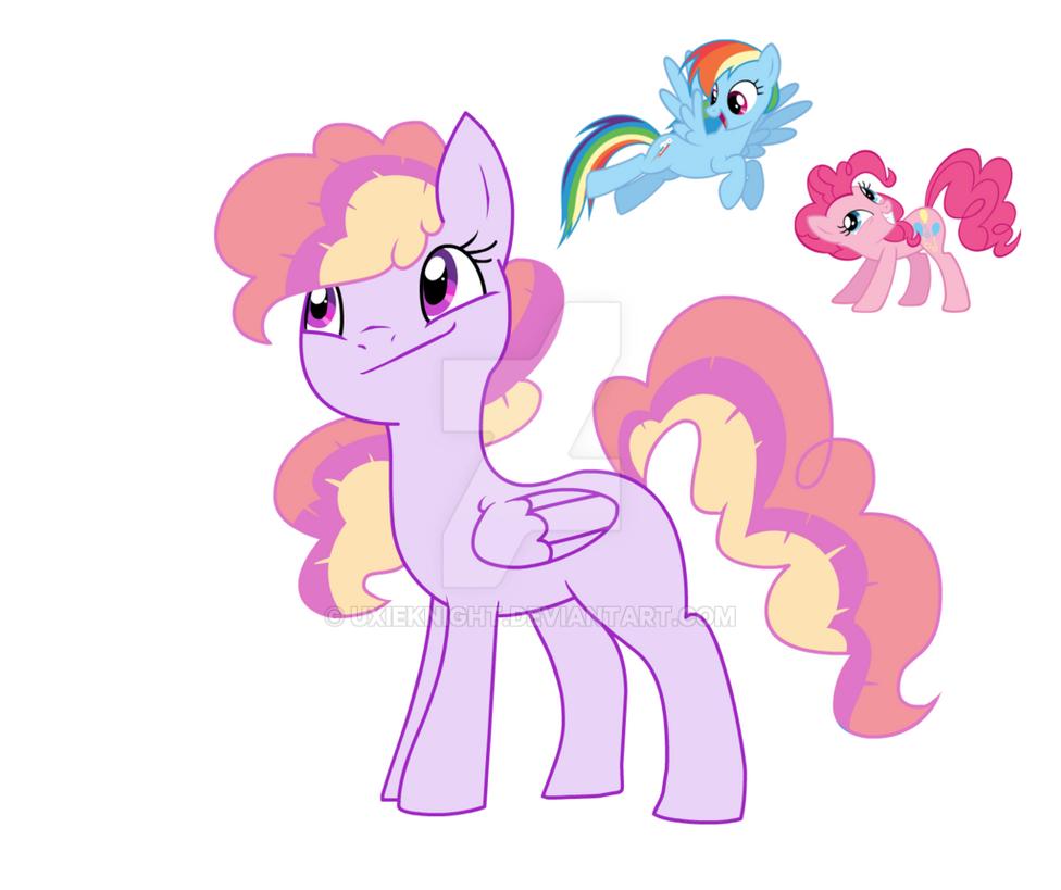 Mlp   Pinkiedash (pending name) Vesperavers by UxieKnight