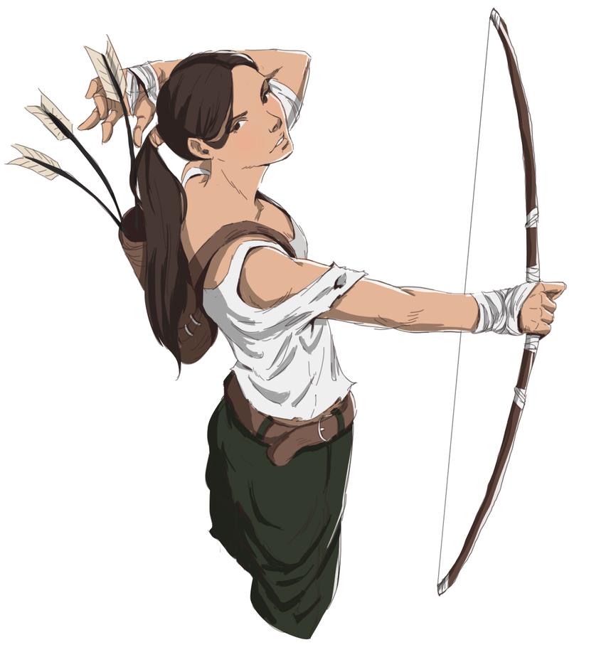 Lara Croft by WalterRenan