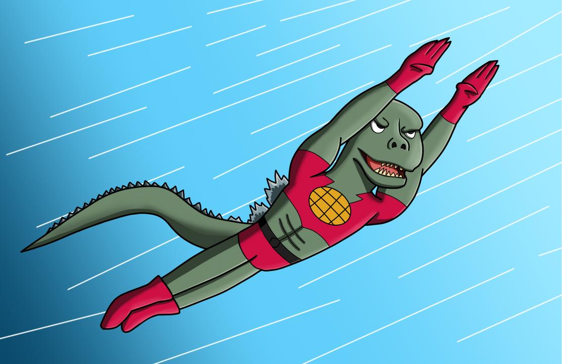 This is Basically Godzilla Vs Hedorah by The-Ray3000
