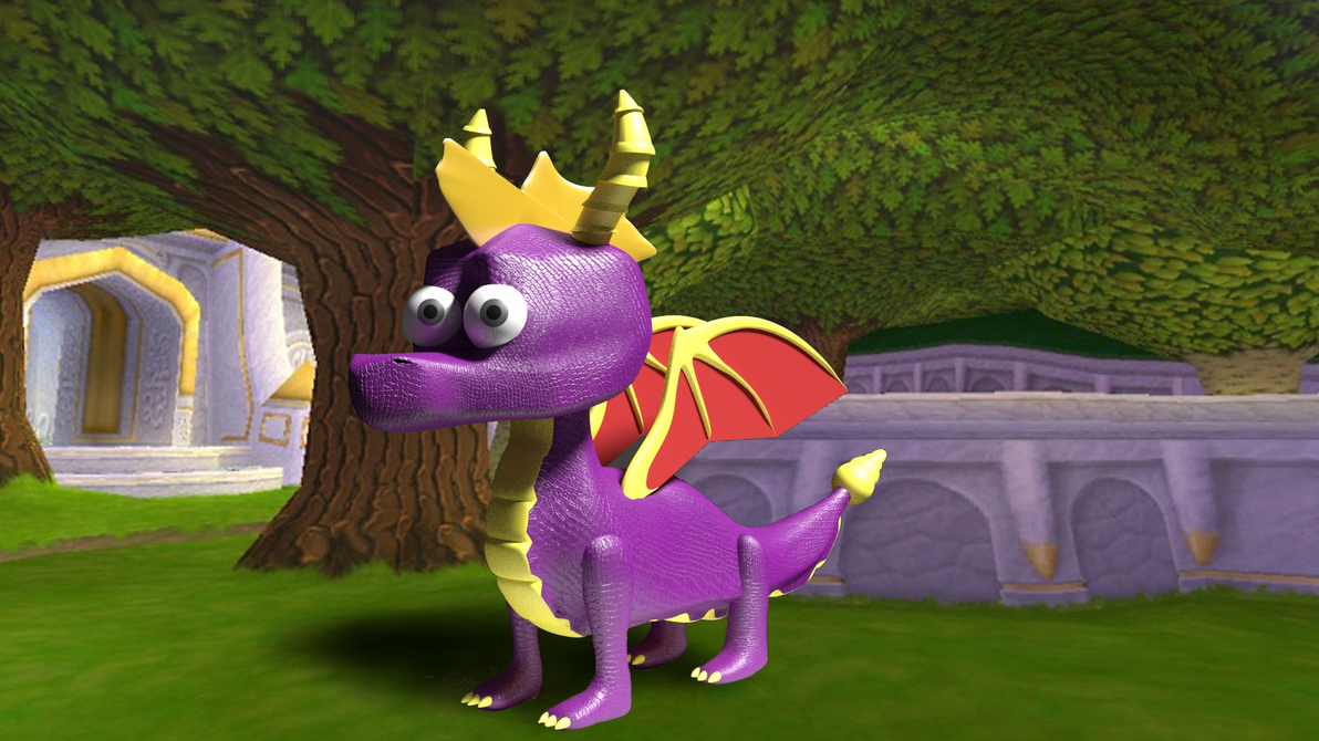 Spyro the Dragon (3D Model) by The-Ray3000