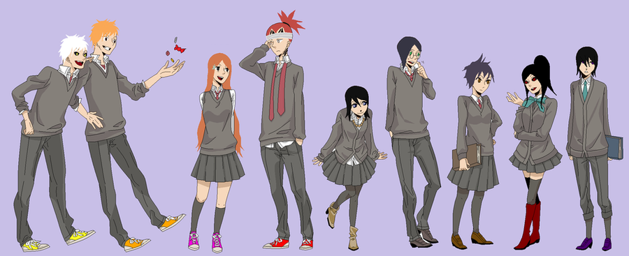 bleach harry potter crossover by thetoph333