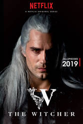 The Witcher Netflix Poster (Henry Cavill)