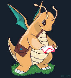 Dragonite mail delivery