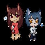 20141001 - Chibi Wolf Children