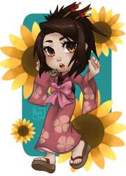 2020.09.16 // Sunflower [SAMURAI CHAMPLOO]