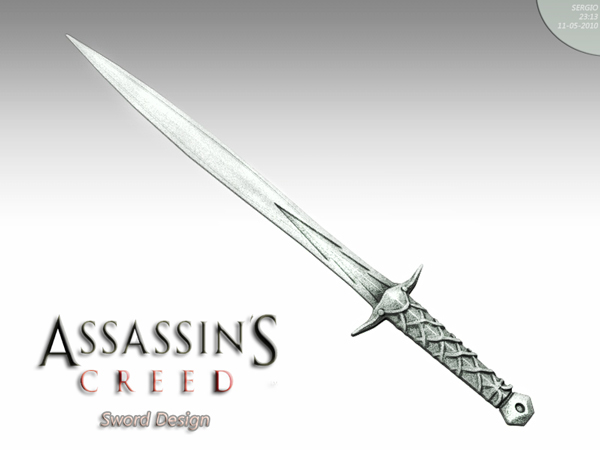 Assassin S Creed Sword By Sergiosoares On Deviantart