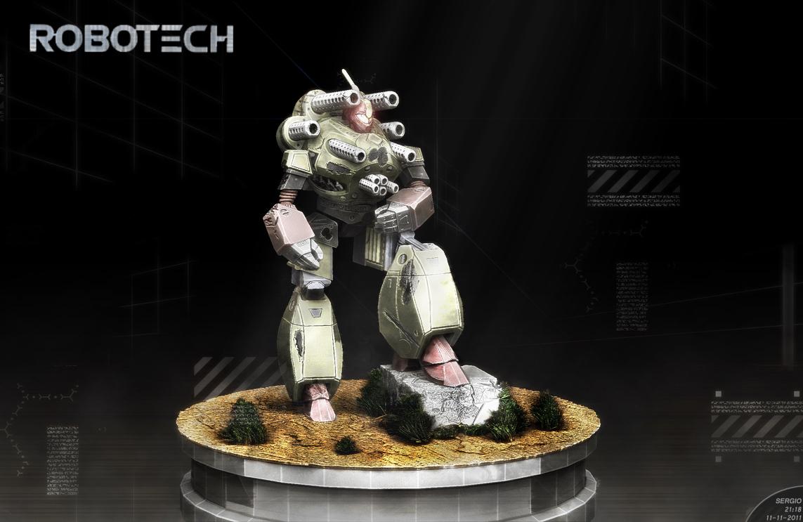 Robotech Original by sergiosoares