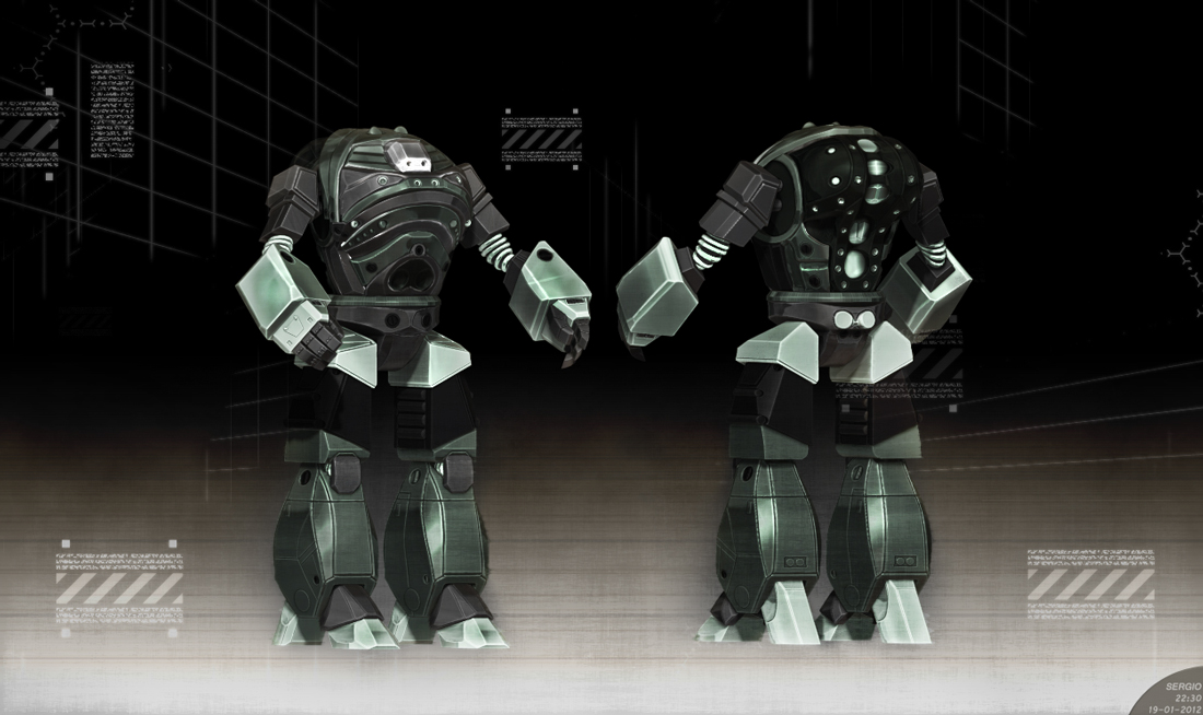 Battletech: Front n Back by Bamboo-Learning