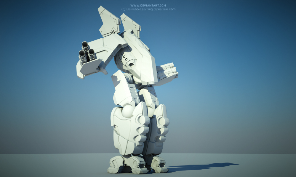 WIP: Mecha by Bamboo-Learning