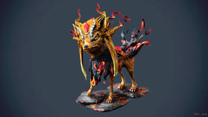 Arc Fox Demon by sergiosoares