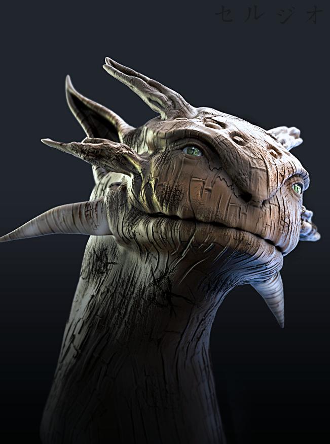 Tree Dragon by sergiosoares