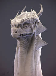 Dragon Bust by sergiosoares