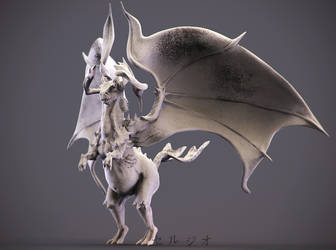Demon Dragon by sergiosoares