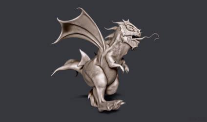 Demon Draco by sergiosoares