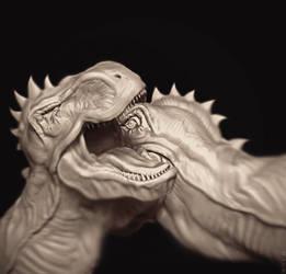 T-Rex'n Rex by sergiosoares