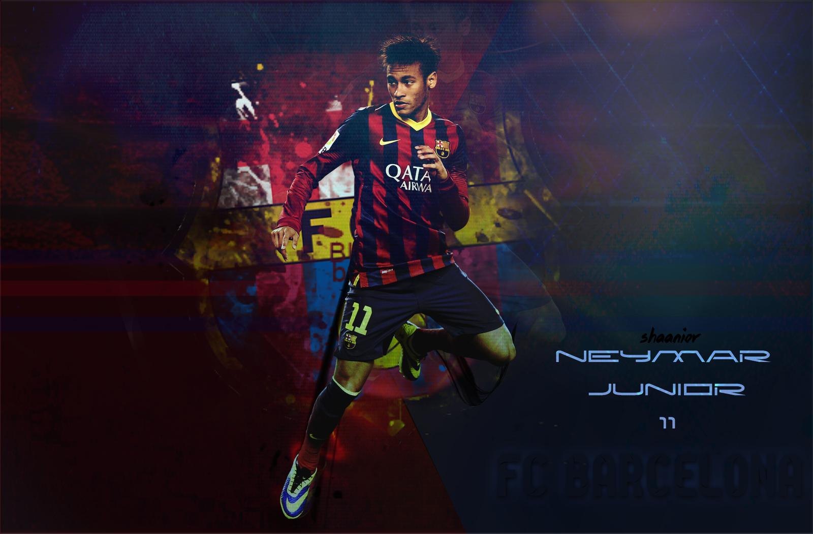 wallpaper neymar barcelona 20132014 by shaaniordesign