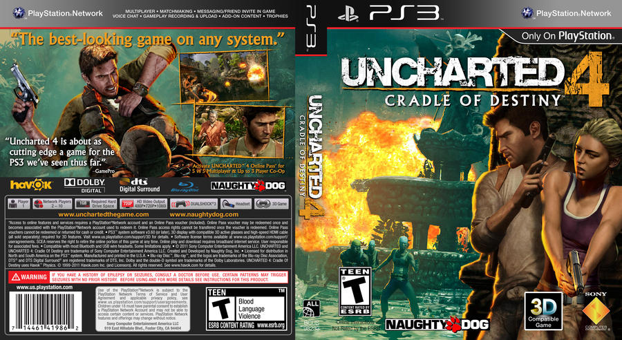 Uncharted 4 E3 PS4 tech demo on way | Product Reviews Net