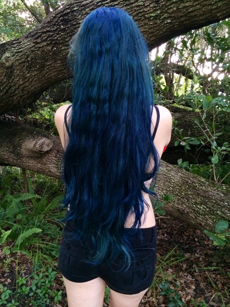 Blue Hurr Don't Curr by gwenlectra