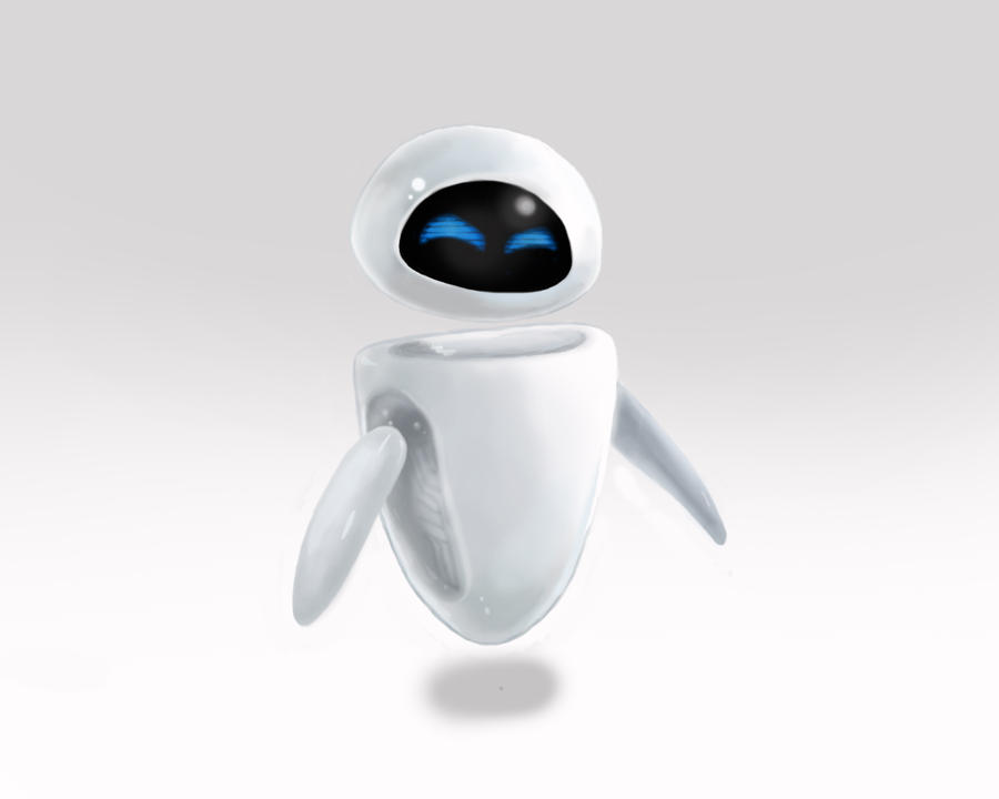 Eve from WALLE by cayligraham on DeviantArt