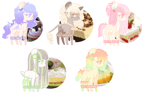 Dessert Adopts {Closed} by Irusu-Adopts