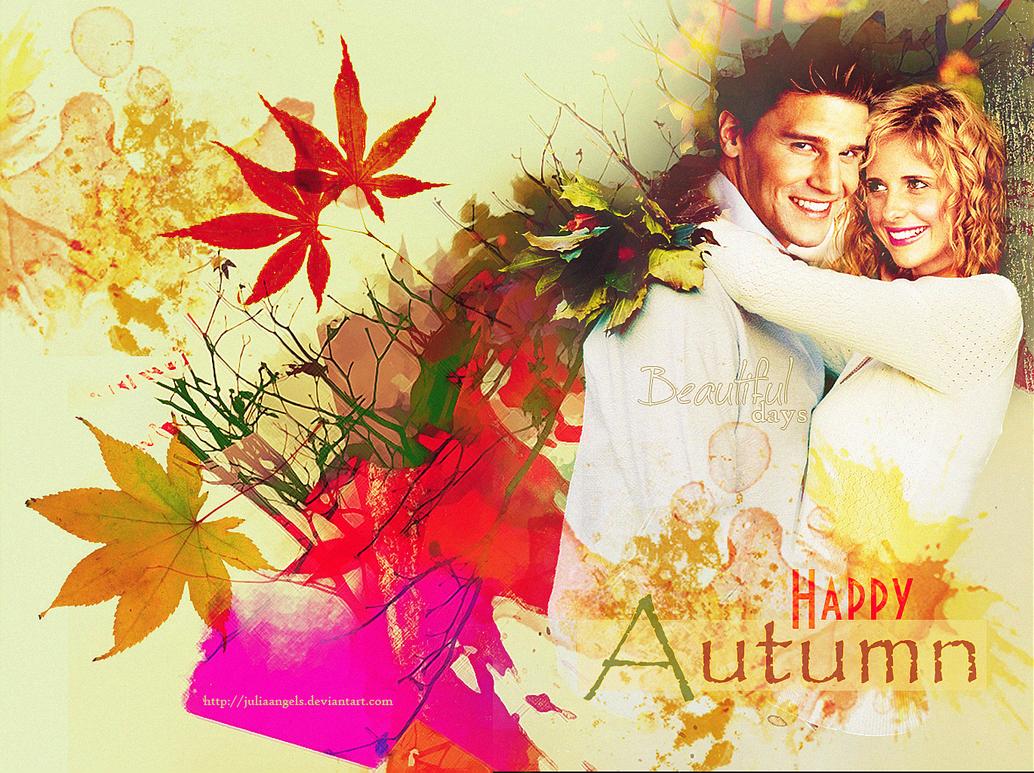 Happy Autumn by JuliaAngels