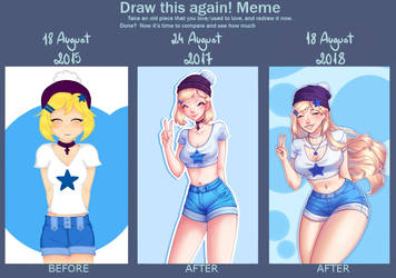 Draw This Again Meme  2015-2018 by DFDDraws