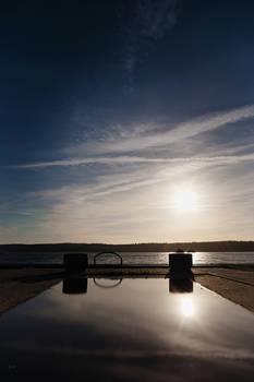 - Pool at the lake -
