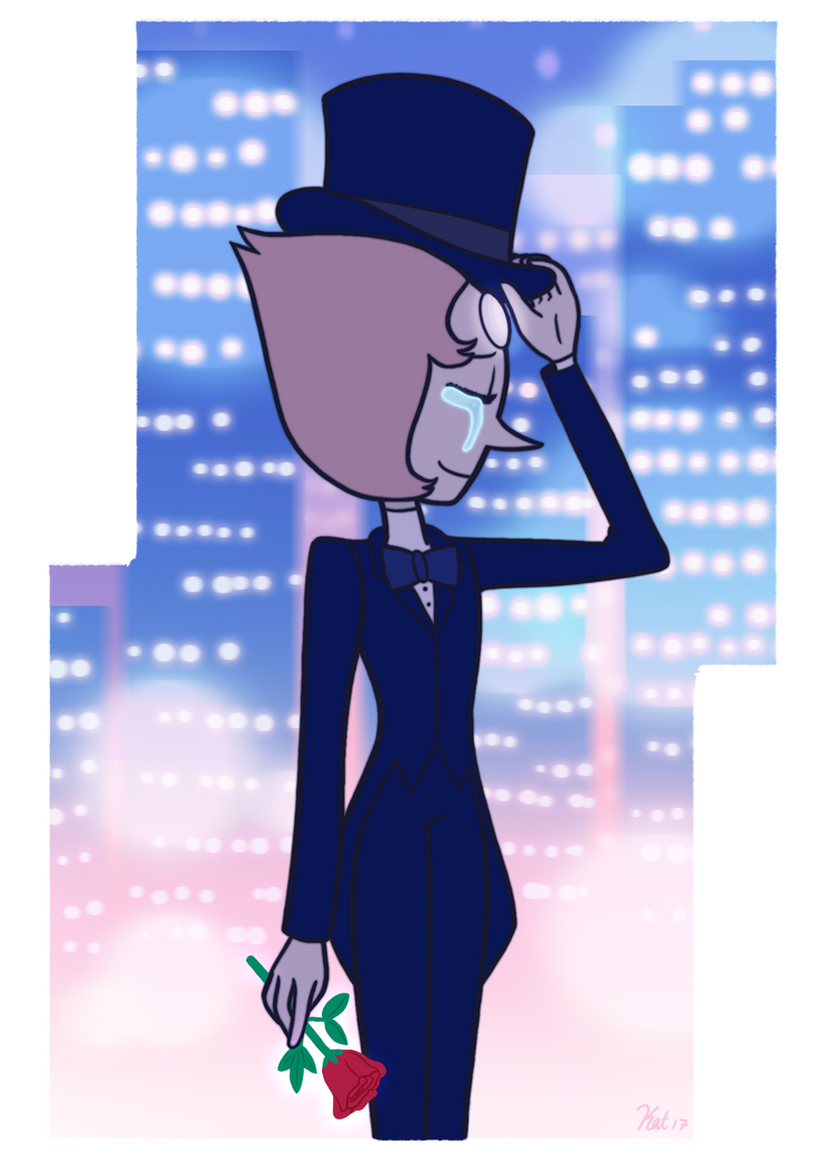 Why can't I move on? Pearl is a character off of the popular show Steven Universe which belongs to Rebecca Sugar.