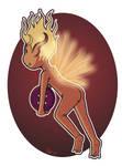 Fire Fairy Button