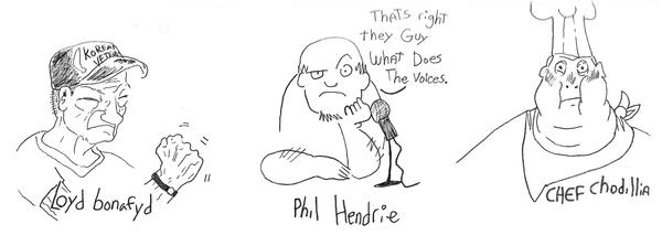phil hendrie characters II