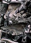 Dragons and werewolves versus machines by Holdkutya