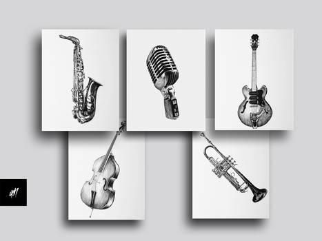 Postales Jazz