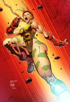Cammy by ng and surf tiki colored by DanOlvera