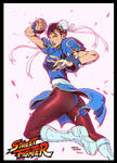ChunLi by AlvinLee and Ben jones colored