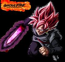 Black Goku Super Saiyan Rose by GhoulFire