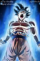 Ultra Instinct Goku by GhoulFire